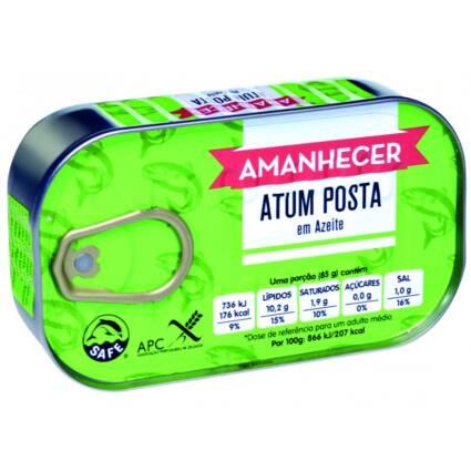 Atum Posta em Azeite Amanhecer 120gr - Supermercado - Mercearia