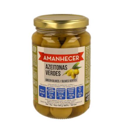 Azeitonas Verdes Inteiras Amanhecer - Supermercado - Mercearia
