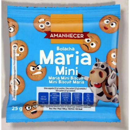 Bolachas Maria Mini de 25GR - Supermercado - Bolachas