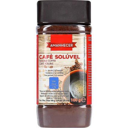 Café Solúvel com Cafeína Amanhecer - Supermercado - Mercearia