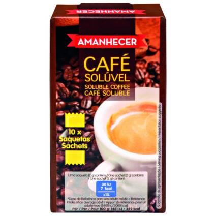 Café Solúvel em Saquetas Amanhecer (10x2gr) - Supermercado - Mercearia