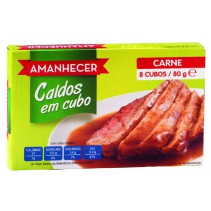 Caldo em Cubos de Carne Amanhecer 8un - Supermercado - Mercearia