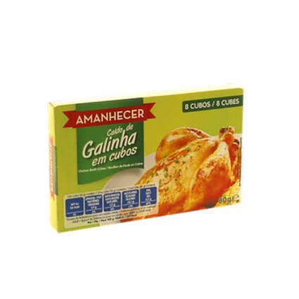 Caldo em Cubos de Galinha Amanhecer 8un - Supermercado - Mercearia