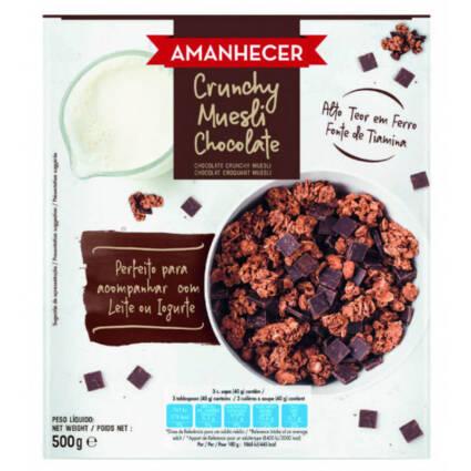 Cereais Muesli de Chocolate Amanhecer - Supermercado - Mercearia