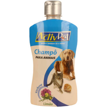 Champô para Animais Activpet 500ml - Supermercado - Higiene e beleza