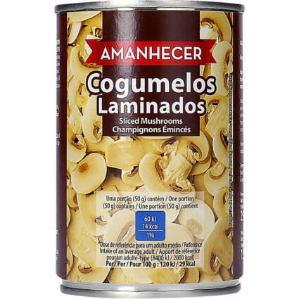 Cogumelos Laminados Amanhecer 290gr - Supermercado - Mercearia