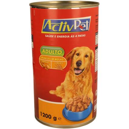 Alimento Húmido Pedaços Frango e Cereais em Molho para Cão Adulto 1