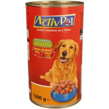 Alimento Húmido Pedaços de Vaca e Cereais em Molho para Cão Adulto - Supermercado - Animais