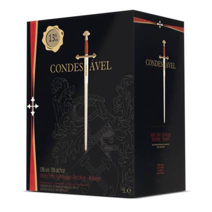 Condestável Vinho Tinto Bag in Box 5L - Alc. 13% vol. - Supermercado - Bebidas