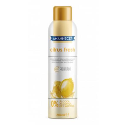 Desodorizante Amanhecer Spray Citrus Fresh - Supermercado - Higiene e beleza