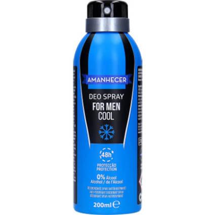 Desodorizante Amanhecer Spray Cool for Men - Supermercado - Higiene e beleza