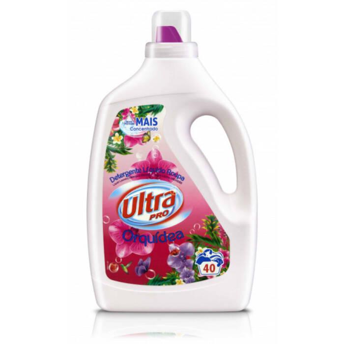 Detergente Máquina da Roupa Líquido Ultra Pro Orquídea 40 doses - Supermercado - Cuidar da casa