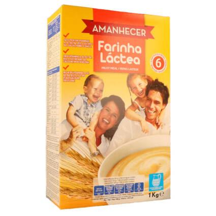 Papa Infantil Farinha Láctea Amanhecer - Supermercado - Mercearia