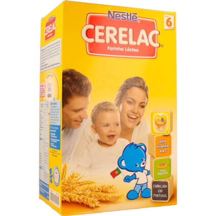 Papa Infantil Farinha Láctea Cerelac - Supermercado - Mercearia