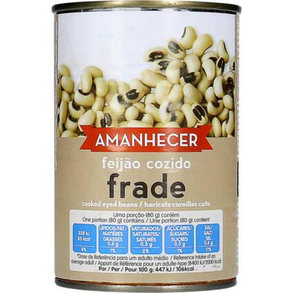 Feijão Frade Cozido Amanhecer - Supermercado - Mercearia
