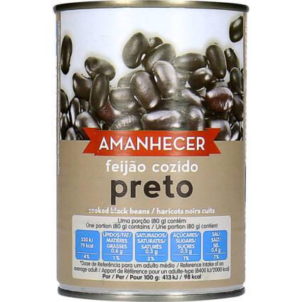 Feijão Preto Cozido Amanhecer - Supermercado - Mercearia