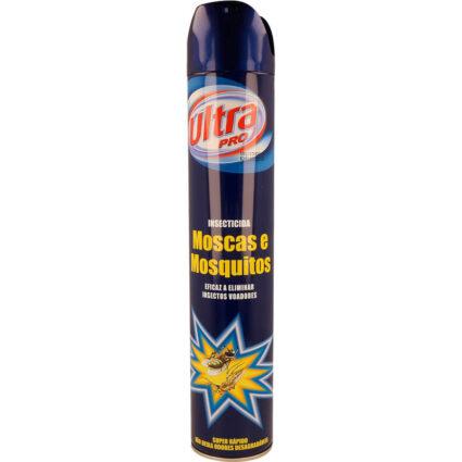 Insecticida em Spray Ultra Pro Moscas e Mosquitos - Supermercado - Cuidar da casa