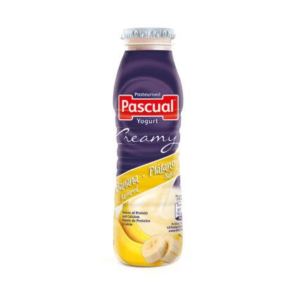 Iogurte Liquido Cremoso Banana 188ml - Supermercado - Lacticinios