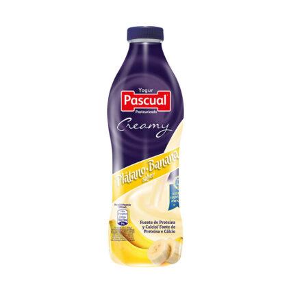 Iogurte Liquido Cremoso Banana 750ml - Supermercado - Lacticinios