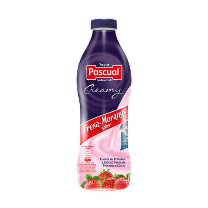 Iogurte Liquido Cremoso Morango 750ml - Supermercado - Lacticinios