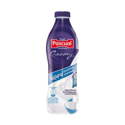 Iogurte Liquido Cremoso Natural Açucarado 750ml - Supermercado - Lacticinios