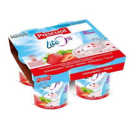 Iogurte Desnatado Morango Pack 4x125gr - Supermercado - Lacticinios
