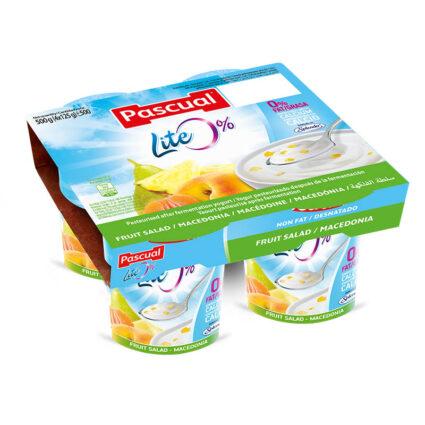 Iogurte Desnatado Salada de Fruta Pack 4x125gr - Supermercado - Lacticinios