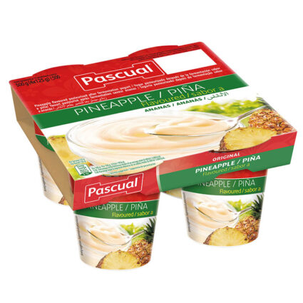 Iogurte Sabor Ananas Pack 4x125gr - Supermercado - Lacticinios