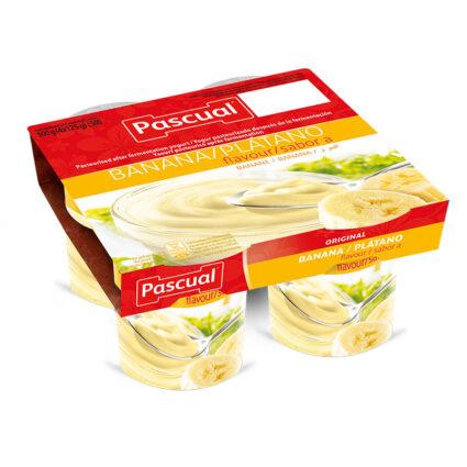 Iogurte Sabor Banana Pack 4x125gr - Supermercado - Lacticinios