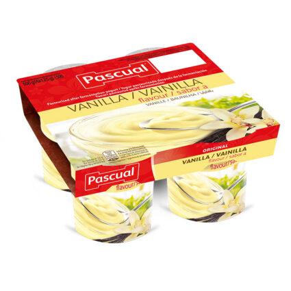 Iogurte Sabor Baunilha Pack 4x125gr - Supermercado - Lacticinios