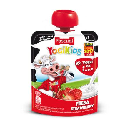 Iogurte Yogikids Bolsa Morango 80gr - Supermercado - Lacticinios