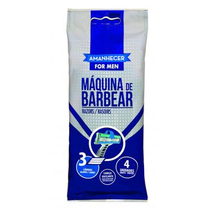 Lâmina Descartável de Barbear Tripla com 4un - Supermercado - Higiene e beleza