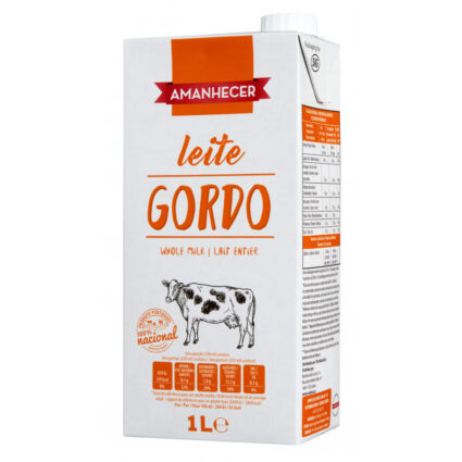 Leite UHT Gordo Amanhecer - Supermercado - Lacticinios