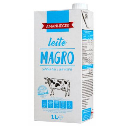 Leite UHT Magro Amanhecer - Supermercado - Lacticinios