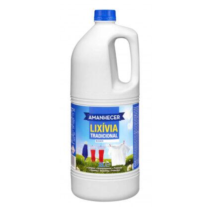 Lixívia Amanhecer Tradicional 2LT - Supermercado - Cuidar da casa