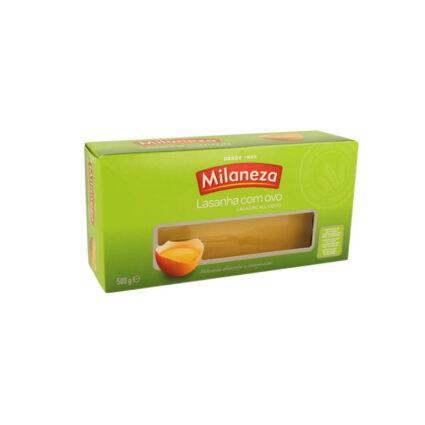 Massa em Folhas de Lasanha com Ovo Milaneza - Supermercado - Mercearia