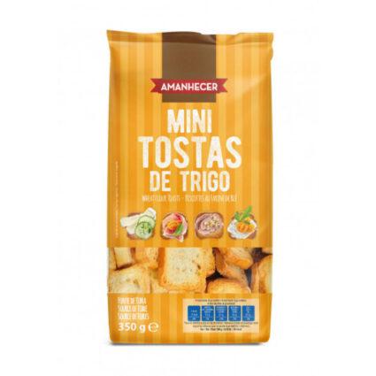 Mini Tostas de Trigo Normal Amanhecer - Supermercado - Bolachas