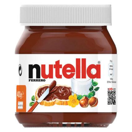 Nutella Creme de Avelã e Cacau 400GR - Supermercado - Bolachas