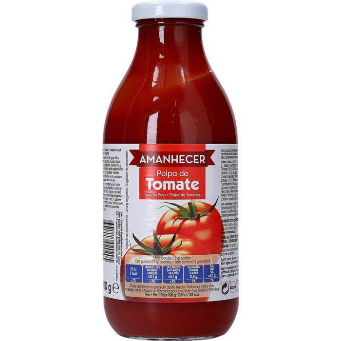 Polpa de Tomate Amanhecer 500gr - Supermercado - Mercearia