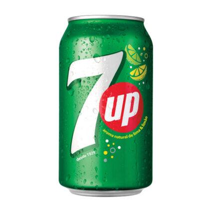 Refrigeante 7UP com gás em lata de 33cl - Supermercado - Bebidas