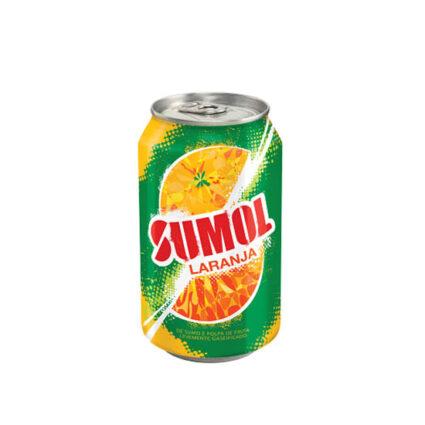 SUMOL Refrigerante Com Gás de Laranja Lata 330 ml - Supermercado - Bebidas