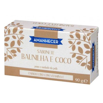 Sabonete Baunilha e Coco Amanhecer - Supermercado - Higiene e beleza