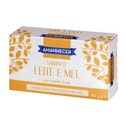 Sabonete Leite e Mel Amanhecer - Supermercado - Higiene e beleza