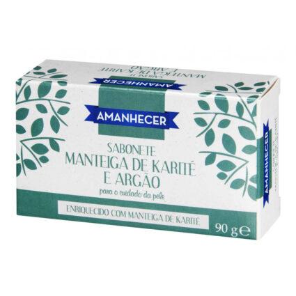 Sabonete Manteiga de Karité e Argão Amanhecer - Supermercado - Higiene e beleza