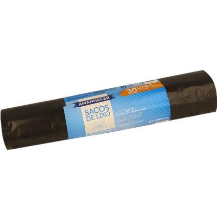 Saco de Lixo Amanhecer com Atilho 30 litros 20un - Supermercado - Cuidar da casa
