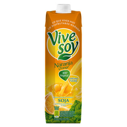 Bebida de Sumo de Laranja e Soja 1L - Supermercado - Bebidas