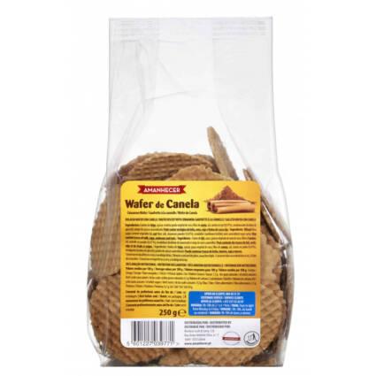 Bolacha Wafer de Canela 250GR - Supermercado - Bolachas