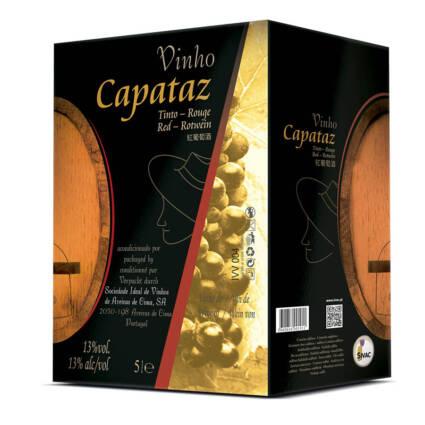 Capataz Vinho Tinto Bag in Box 5L - Alc. 13% vol. - Supermercado - Bebidas