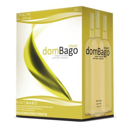 dombago Vinho Branco Bag i Box 5L - Alc. 12
