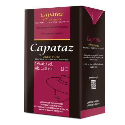 Capataz Vinho Tinto Tetrapak 1L - Alc. 13% vol. - Supermercado - Bebidas